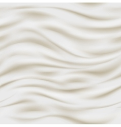 Fresh sour cream background vector