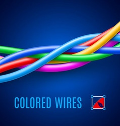 Wires vector image