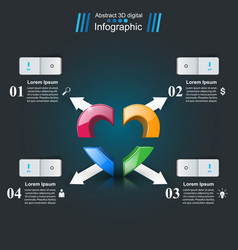 Health icon 3d medical infographic vector