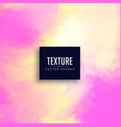 pink watercolor texture background design vector image