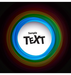 Colour speech bubbles vector