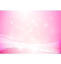 Pink yellow abstract background lighting curve and vector