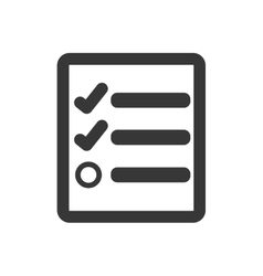 Check list icon document design graphic vector