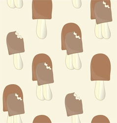 The background of ice cream vector image
