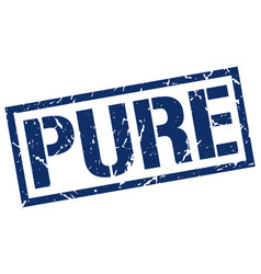 Pure stamp vector