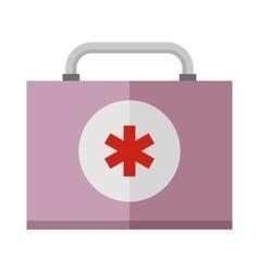 Basic car emergency kit first help equipment vector
