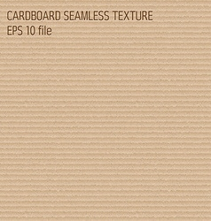 cardboard seamless textured pattern vector image vector image
