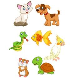 Cartoon pet vector image vector image