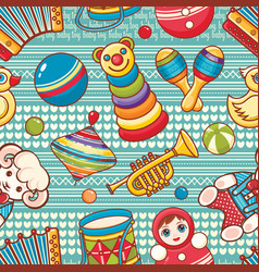 Musical instrument and baby toys vector