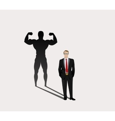 Strong Leader vector image vector image