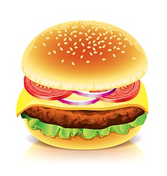Object hamburger vector