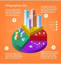 City infographics vector