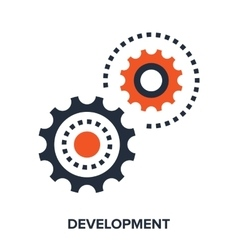development vector image