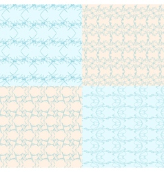 geometric backgrounds9 vector image vector image