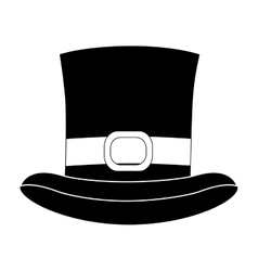 High top hat icon image vector