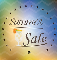 Summer sales vector