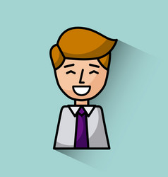 Young businessman image vector