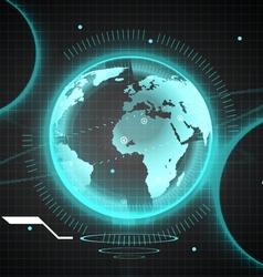 Bg world vector