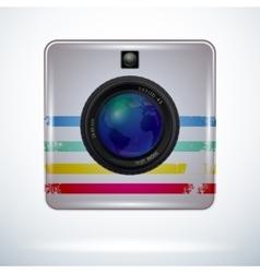 Camerametal vector image