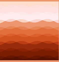 Abstract red tone background with curve lines vector