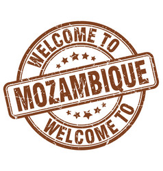 Welcome to mozambique vector