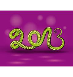 Green snake 2013 vector