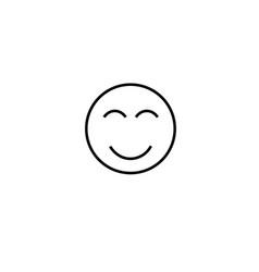 happy emotion icon vector image