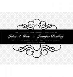 middle border and pattern vector image vector image