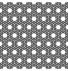 Seamless monochromatic line pattern vector