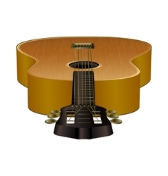 Acoustic guitar in the projection vector