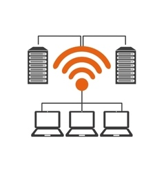 Wifi connection design vector