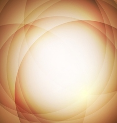 Abstract orange background with circle vector
