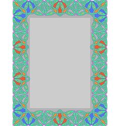 Celtic frame 1 vector
