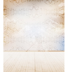 grungy wall vector image vector image