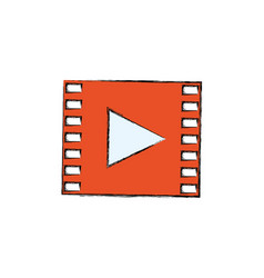 video media player vector image