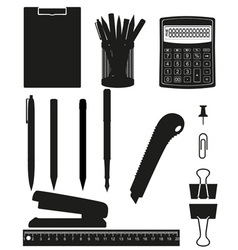 Stationery set 03 vector