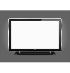 LCD TV vector image