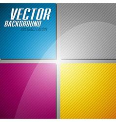 Cmyk squares vector