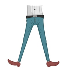 jeans tight vector image