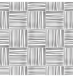 Seamless abstract line pattern vector