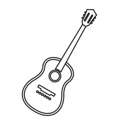 Charango stringed acoustic instrument icon vector image