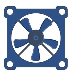 Computer cooler vector image vector image