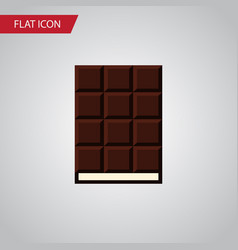 isolated wrapper flat icon dessert element vector image vector image