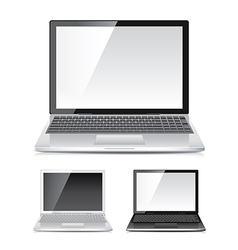 object laptop vector image vector image