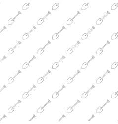 Shovel pattern seamless vector