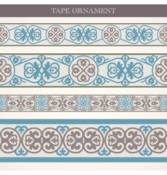 Tape ornament vector image