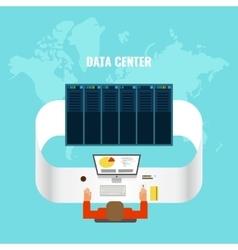 Data center composition vector