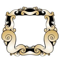 Modern Style Frame vector image