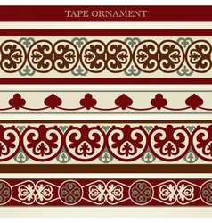 Tape ornament vector