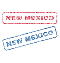 New mexico textile stamps vector
